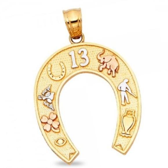 Jewelry Horseshoe Lucky Charm Symbols Good Luck Pendant Poshmark